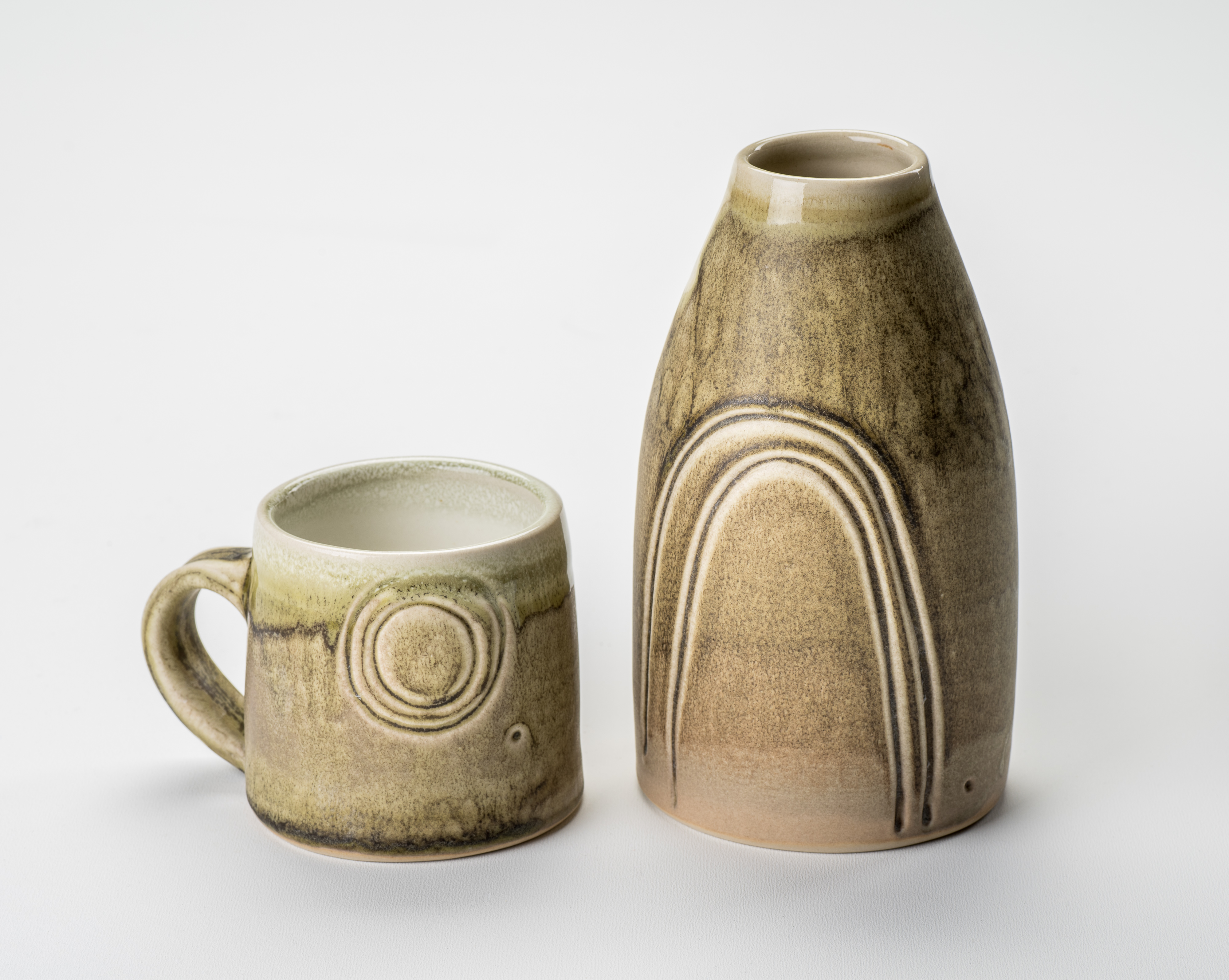 Vase and Mug  - photo by J Addington