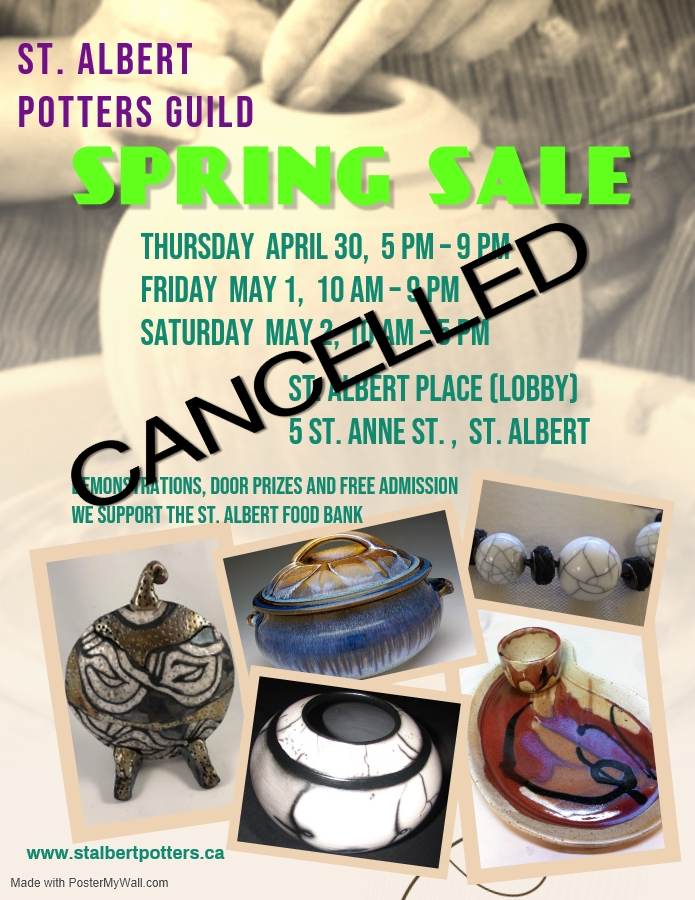 2020 Spring Sale CANCELLED